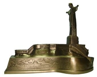 Cristo Redentor y Corcovado estatua Jesús resina Rio de Janeiro RJ Brasil