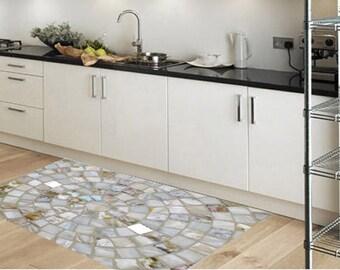 Pvc Rug, Kitchen Rug, Floor Mat, Flooring, Vinyl Floor, Area Rug