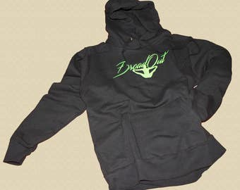 """Dancehall-embroidered hoodie """"Broad Out"""" move-Ballerina Alevanille"""