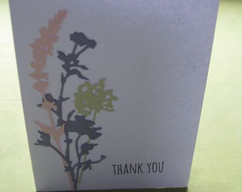 Thank You Card - Wildflowers