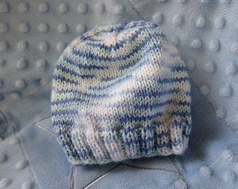 Baby Beanie (knit/crochet)