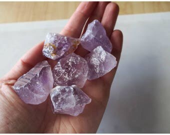 Rough Amethyst Cluster - This listing is for one (1) cluster/crystal