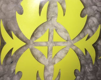 Cardfight!! Vanguard Shadow Paladin Clan Symbol decal