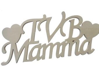 Written in wooden TVB mamma.
