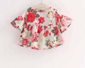 Flower Girls Blouse