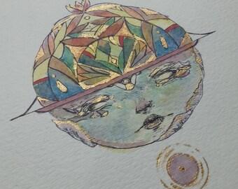Baby Blue - Original Painting