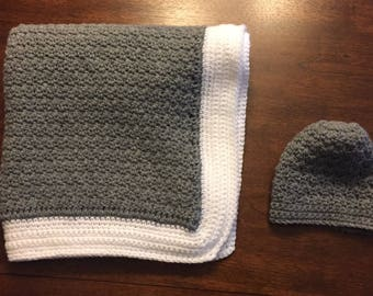 Crotcheted Baby Blanket