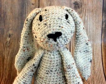 Crochet Floppy Eared Stuffed Bunny