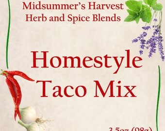 Homestyle Taco Mix