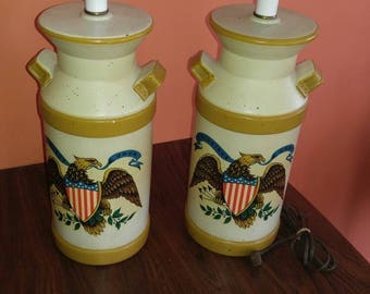 Underwriters Vintage Eagle Lamps
