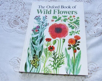 Vintage The Oxford Book of Wild Flowers