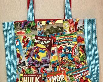 Marvel Comic Shoulder Bag
