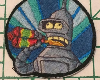 Bender Iron-On Patch