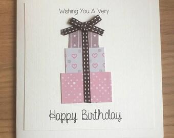 Happy Birthday Presents Card