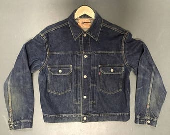 Late 1950s 507XX Paperpatch Type 2 Levis Jacket