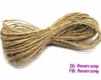 Hemp rope, Natural hemp rope, Hemp rope for soap