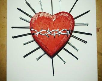 Ex-voto heart