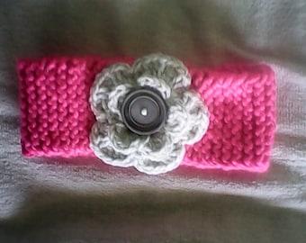 Tickled pink headband