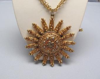 KENNETH LANE Sunburst Necklace
