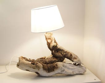 Driftwood lamp design Rootwood
