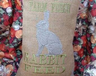 Rabbit pillow