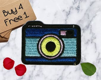 Iron On Camera Patches Photo Patches Iron On Patch Applique Patches For Jackets