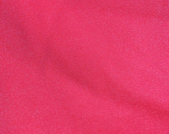 Neon pink/orange plain Lycra Fabric - 4 way stretch - great for dancewear, swimwear, festival wear and more!