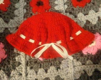 Hat for baby 0-3 months / Chapeau pour bébé 0-3 mois
