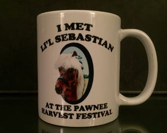 Parks and Recreation 'lil Sebastian Coffee Mug