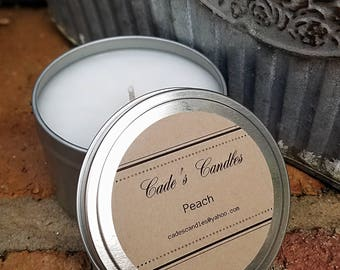 PEACH - Scented Candle