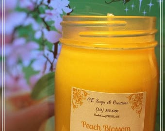 Peach Blossom 16 oz Candle