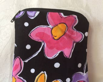 Funky Floral Coin Pouch