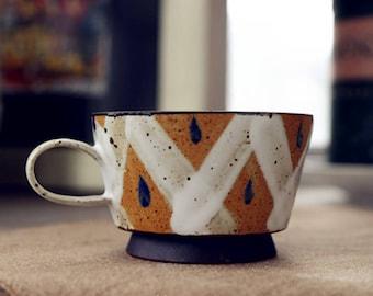 teacup,mug,coffee cup,handmade pottery