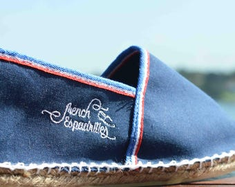 Traditional hand-made canvas shoes