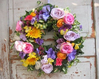 Handmade wall wreath door wreath wreaths