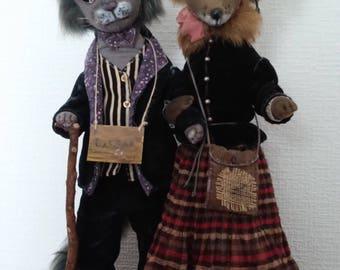Cat Bazilio and Fox Alisa