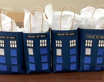 Doctor Who gift bags for Favor