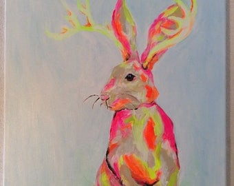 Abstract Jackalope