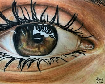 Your OWN Eye Drawing (send a picture)