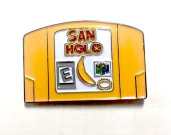 San Holo Donkey Kong Hat Pin