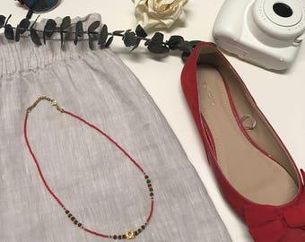 Cubicle Necklace