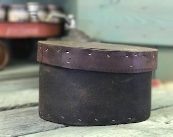 Handmade Leather Box by Gilbert Dodd