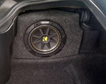 2002-2008 E85 BMW Z4 Trunk Subwoofer Enclosure