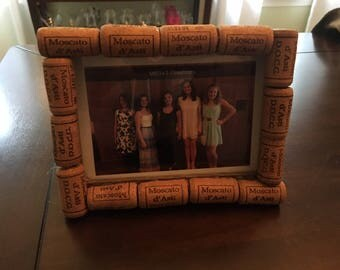 Cork Screw Photo Frame