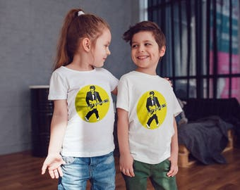 Chuck Berry Kids Shirts Kids Tshirt Toddler Shirt Gift For Kids Rock n Roll Shirts Kids Shirt Kid T-Shirt Boys Top Girls Top Kids Clothes