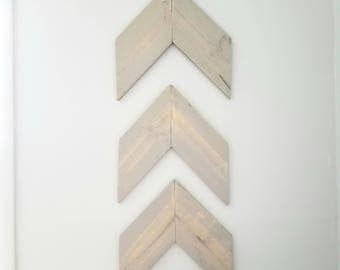 Rustic Wood Arrows, Wall Arrows, Chevron, Arrow Decor, Rustic Decor, Rustic Nursery