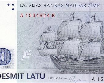Latvia - 50 Latu - 1992