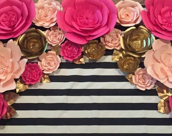 20% off Use code Springsale17-Kate Spade Inspired Paper Flowers-Set of 20