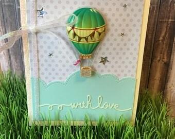 Handmade With Love Card