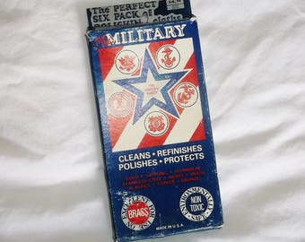 Vintage Package of Military Polishing Cloths • P I C, Nashville, Tenn. • Americana